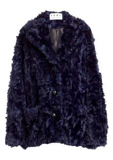 Proenza Schouler Faux Shearling Coat