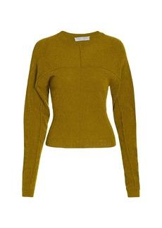 Proenza Schouler Fine Boucle Crewneck Sweater