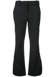 Proenza Schouler flare cropped trousers