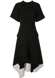Proenza Schouler flared asymmetric dress