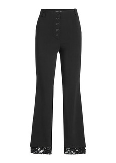 Proenza Schouler Flared Pants with Lace