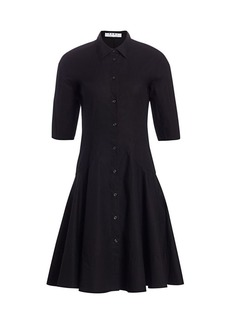 Proenza Schouler Flared Shirt Dress