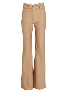 Proenza Schouler Flared Slub Suiting Trousers