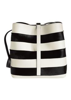 Proenza Schouler Framed Stripe Shoulder Bag