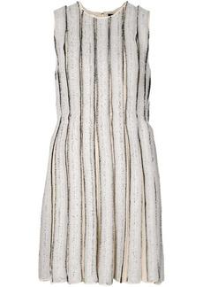 Proenza Schouler frayed stripe shift dress