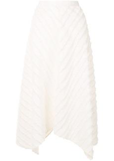 Proenza Schouler fringed asymmetric skirt
