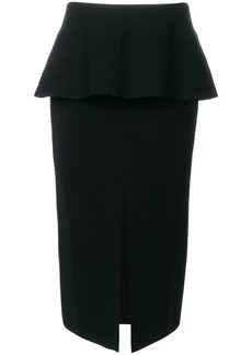 Proenza Schouler front-slit pencil skirt