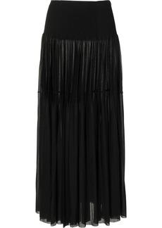Proenza Schouler Gauzy pleated maxi skirt