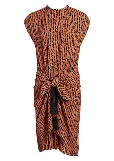 Proenza Schouler Georgette Wrap Dress