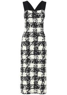 Proenza Schouler Gingham Jacquard Knit Dress