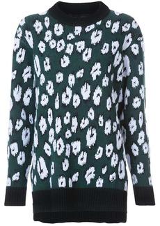 Proenza Schouler Graphic Jacquard Sweater
