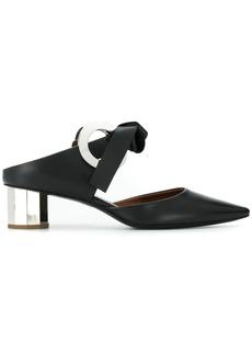Proenza Schouler Grommet Block Heel Mules