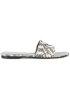 Proenza Schouler grommet sandals