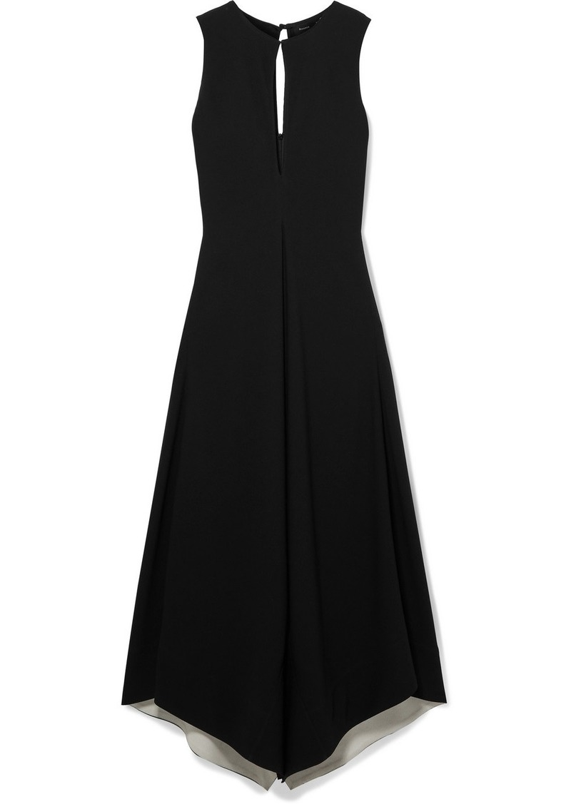 Proenza Schouler Hammered-crepe Maxi Dress