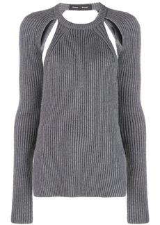 Proenza Schouler Heavy Knit Crewneck Top