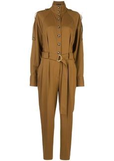 Proenza Schouler high collar buttoned jumpsuit