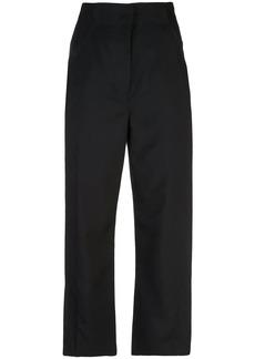 Proenza Schouler High Waisted Split Wool Twill Pants