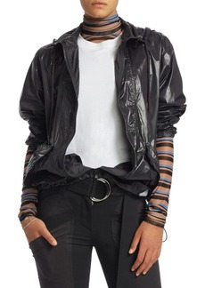 Proenza Schouler Hooded Nylon Windbreaker