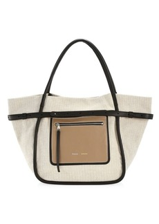 Proenza Schouler Inside-Out Canvas Tote