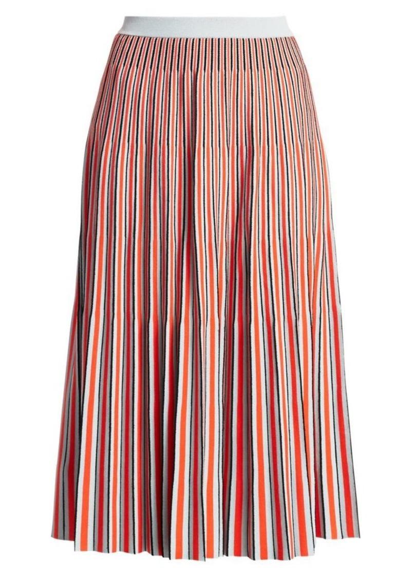 Proenza Schouler Jacquard Knit Striped Skirt