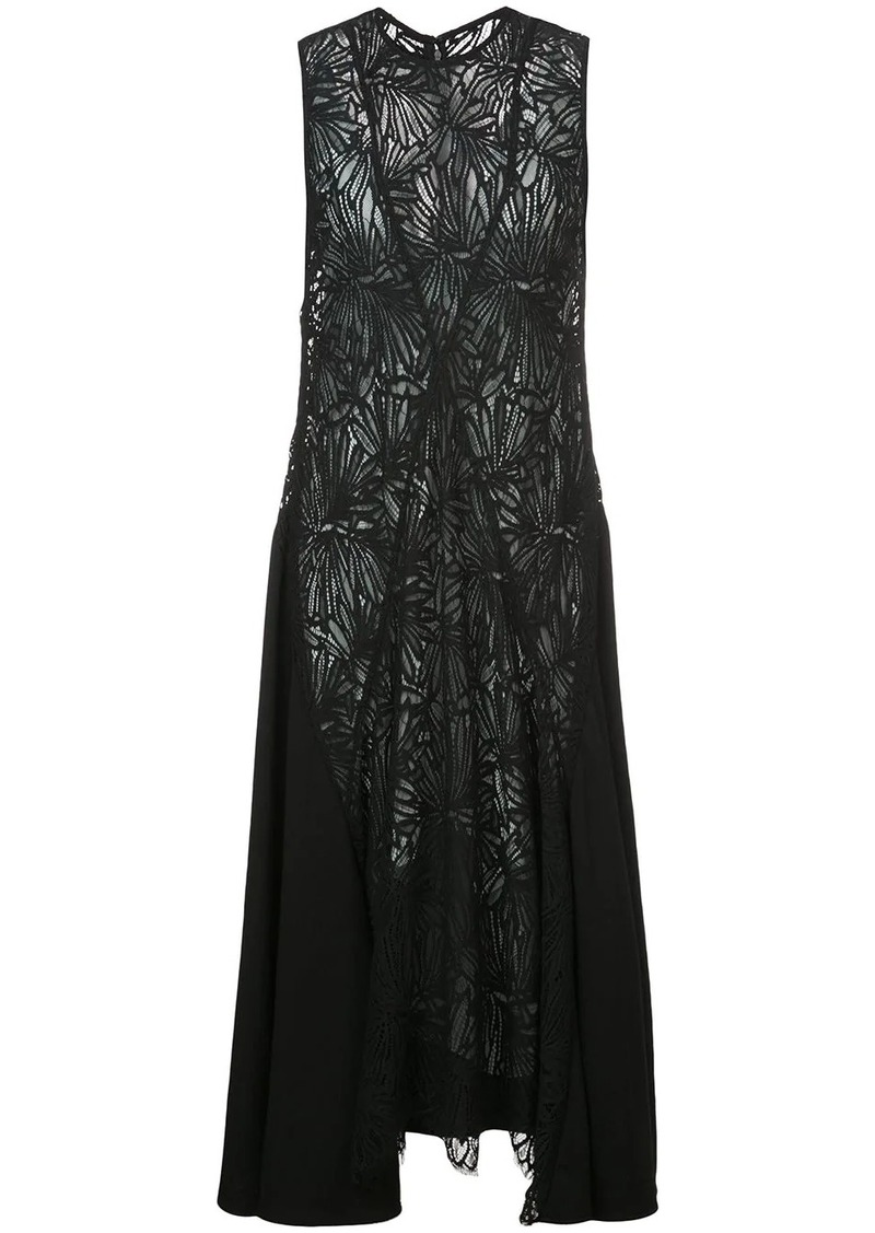 Proenza Schouler Lace Sleeveless Dress
