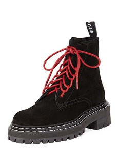 Proenza Schouler Lace-Up Leather Boots