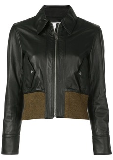 Proenza Schouler Leather Bomber