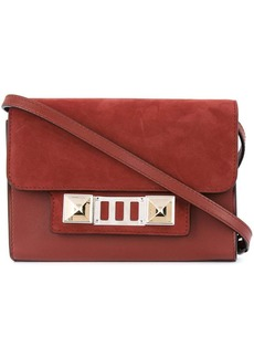 Proenza Schouler Leather Nubuck PS11 Wallet With Strap