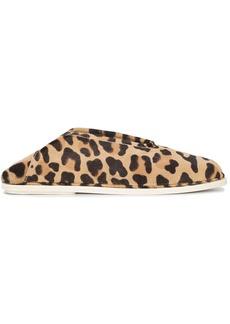 Proenza Schouler Leopard Slip-Ons