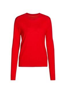 Proenza Schouler Lightweight Wool-Blend Crewneck Sweater