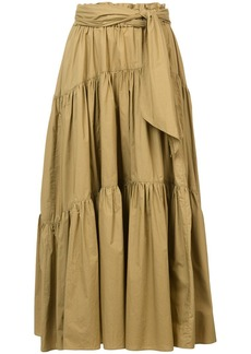 Proenza Schouler Long Cotton Skirt