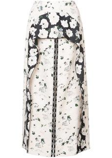 Proenza Schouler Long Peplum Skirt