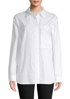 Proenza Schouler Long-Sleeve Cotton Button-Down Shirt