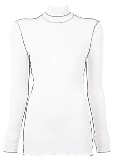 Proenza Schouler Long Sleeve Outlined Turtleneck