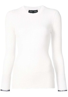 Proenza Schouler Long sleeve ribbed crewneck sweater