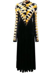 Proenza Schouler Tie Dye Turtleneck Dress
