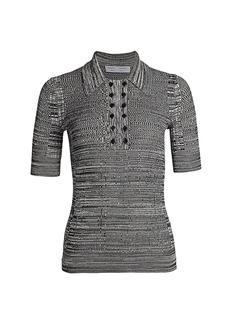 Proenza Schouler Marl Knit Polo