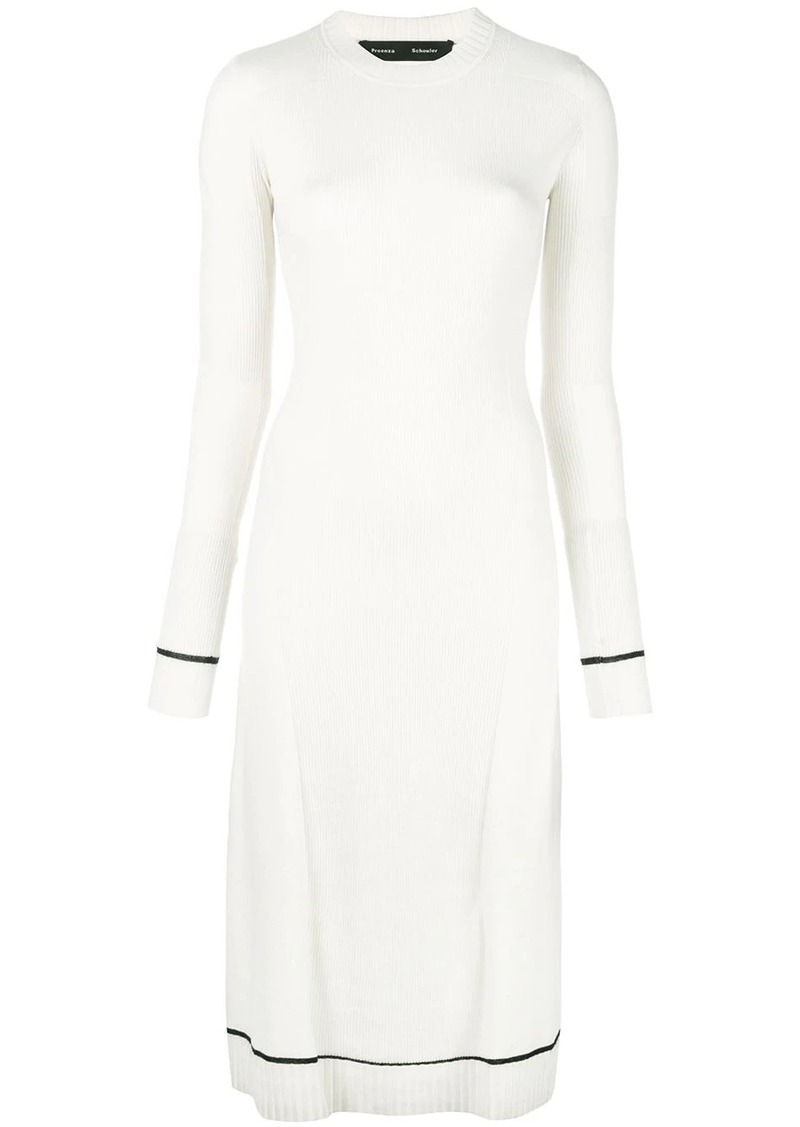 Proenza Schouler Matte Knit Sleeveless Dress
