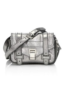 Proenza Schouler Mini Metallic Leather Crossbody Bag