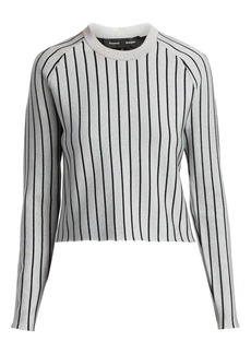 Proenza Schouler Metallic Stripe Sweater