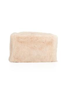 Proenza Schouler Mink Fur Frame Clutch Bag