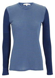 Proenza Schouler Mixed Stripe Jersey Top