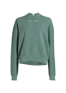 Proenza Schouler Modified Raglan Solid Sweatshirt