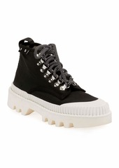Proenza Schouler Nylon High-Top Platform Sneakers
