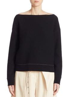 Proenza Schouler Off-The-Shoulder Sweater