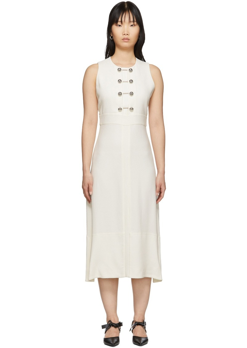 Proenza Schouler Off-White Barbell Dress