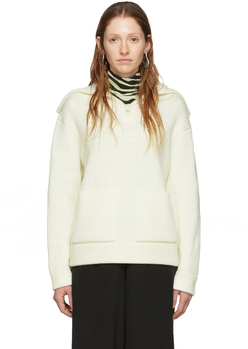 Off-White 'Proenza Schouler White Label' Chunky Rib Sweater