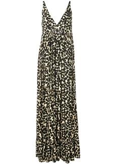 Proenza Schouler Painted Dot Maxi Dress