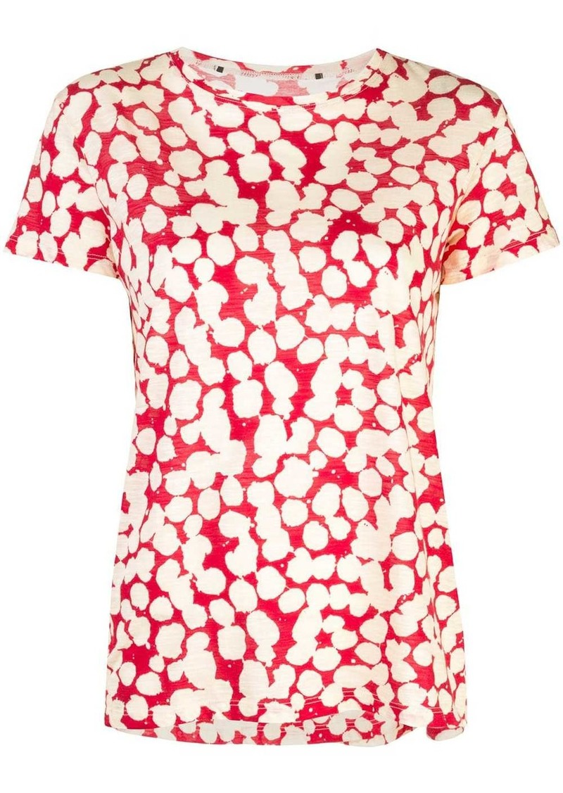 Proenza Schouler Painted Dot Short Sleeve T-Shirt