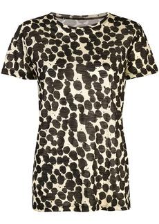 Proenza Schouler Painted Dot Short Sleeve T-Shirt